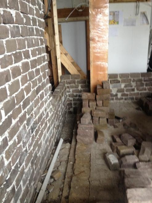 Het laaste stuk muur sluiten